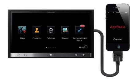 Pioneer saca kits para aprovechar sus sistemas con el iPhone 5