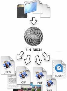 File Juicer, extrae y recupera música, imágenes, etc.