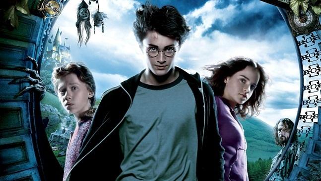 Imagen con el cartel de 'Harry Potter y el prisionero de Azkaban'