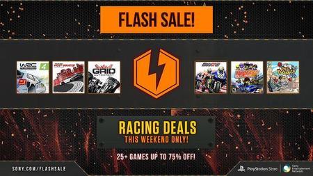 Varios juegos de conducción reciben descuento gracias a una venta flash de PlayStation