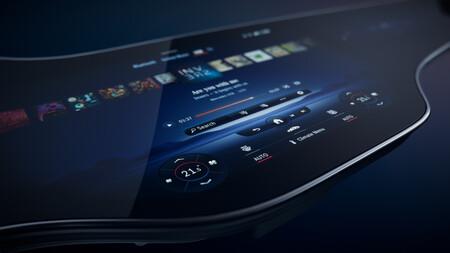 Mercedes-Benz MBUX Hyperscreen 9