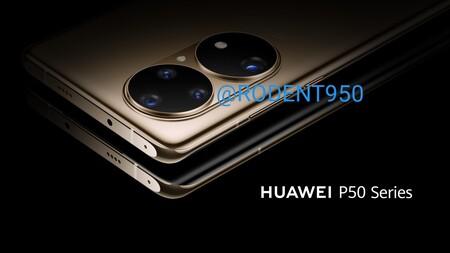 Huawei P50: las primeras imágenes filtradas del nuevo flagship confirman su gigantesco módulo de cámaras