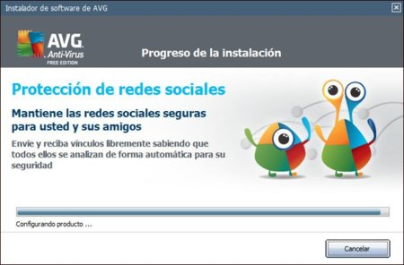 Antivirus gratuitos: AVG Anti-virus Free Edition