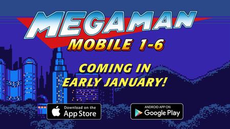 Los seis primeros Mega Man para móviles también llegarán a occidente en enero
