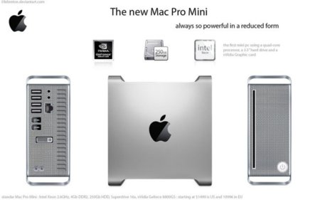 Concepto Mac Pro por Lebreton
