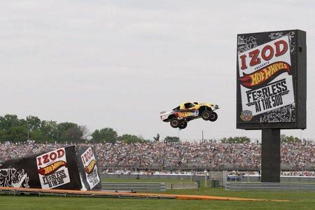 Espectáculo Made in USA para amenizar los prolegómenos de la Indy500