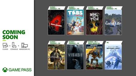 Back 4 Blood y Destiny 2: Más allá de la Luz entre los juegos que llegarán a Xbox Game Pass durante la primera quincena de octubre