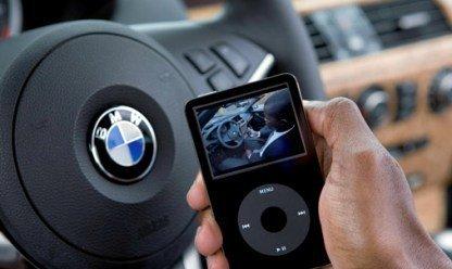 Nueva interfaz de BMW para el iPod