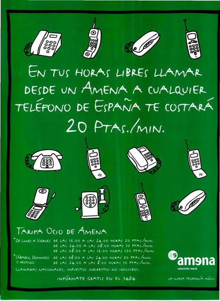 Anuncio Amena 1999