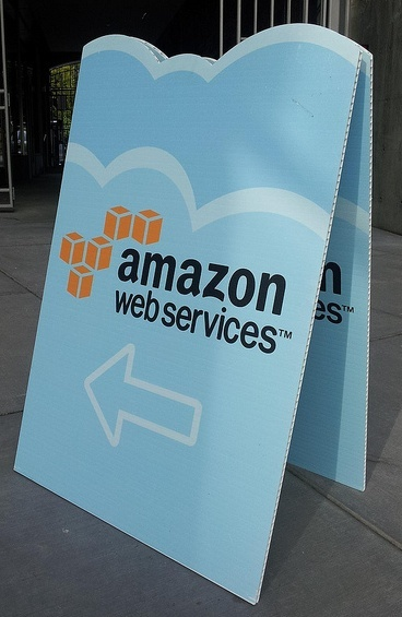 cartel de amazon web services