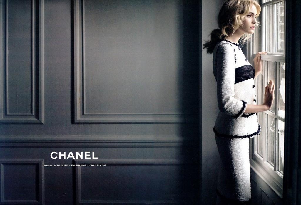 Foto de Heidi Mount, la enésima musa de Karl Lagerfeld (7/14)