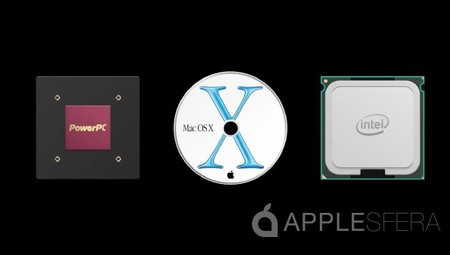 Transición Apple chips