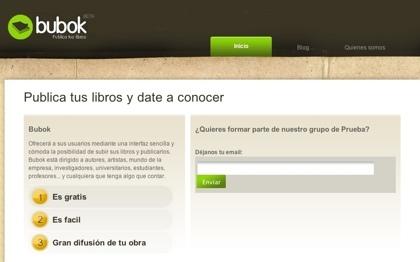 Bubok, sistema español de publicación y promoción de libros bajo demanda