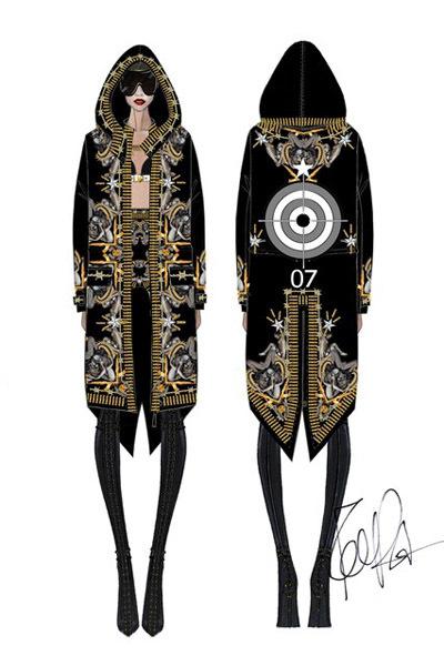 """Para su """"Diamonds World Tour"""", Rihanna vestirá de Givenchy Haute Couture"""