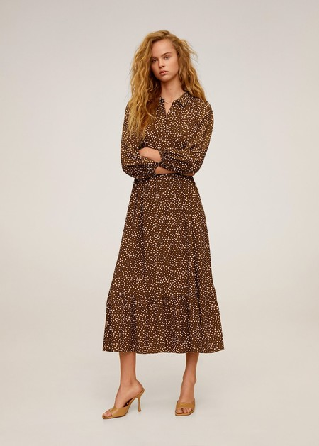 Emma Roberts Mango Dress 02
