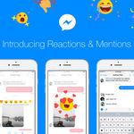 Sí, Facebook vuelve a añadir funciones a Messenger: reacciones y menciones para todos los chats