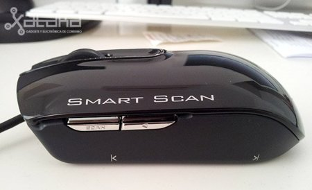 LG LSM-100, análisis del ratón-escáner