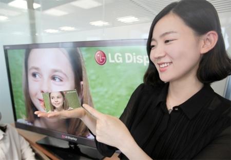 LG anuncia una pantalla Full HD de 5 pulgadas que supera a las Retina Display de Apple en densidad de píxeles