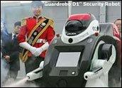 Los robots empezarán a patrullar las calles