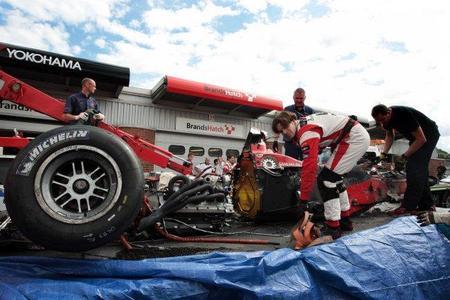 Chris Van der Drift escapa de su accidente con múltiples lesiones