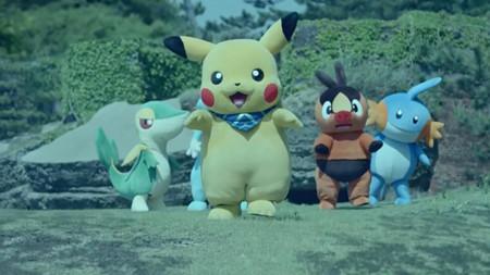Pika-pi, Pikachu!! Pokémon Mystery Dungeon muestra un comercial Live-Action en Japón