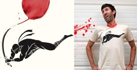 Camiseta para que un ninja te corte la cabeza