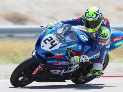 Quinta victoria del año para Toni Elías en Utah, se mete tercero en la general de MotoAmerica