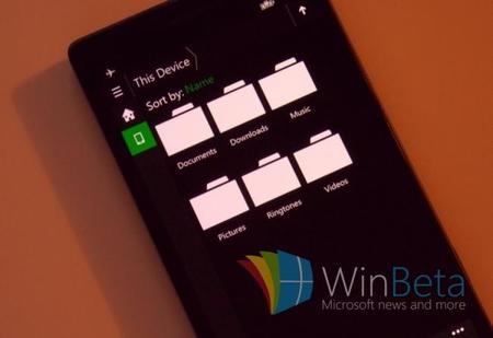 Aparecen imágenes del  nuevo explorador de archivos de Windows 10 para móviles