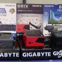 GIGABYTE va en serio con mini-PCs, introduce familia BRIX en México