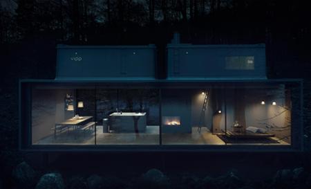 La casa prefabricada de 55 metros cuadrados de Vipp