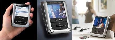 Minox DMP-3, grabador y reproductor de video portátil