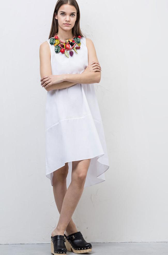 Vestidos Blancos Shopping Tendencia Primavera Verano 2015 1