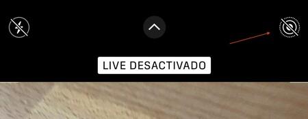 Desactivar Live Photos Iphone