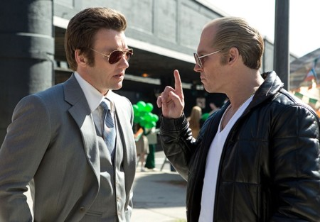 Joel Edgerton y Johnny Depp en