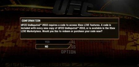 'UFC Undisputed 2010' abre la veda de cobrar por jugar online en los títulos de segunda mano