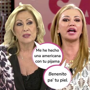 Belén Esteban declara la guerra a Rosa Benito: Este es el auténtico motivo por el que no se dirigen la palabra