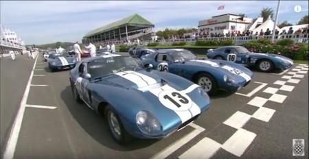 Video: Los únicos seis Shelby Daytona Coupés recorren Goodwood