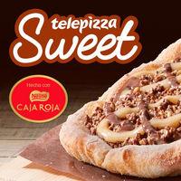 Una pizza con Caja Roja o 3 medianas por 8 euros en las ofertas de Telepizza durante San Valentín y el partidazo Champions