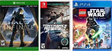 Preventa de juegos para Nintendo Switch, Xbox y PS5 en Amazon México