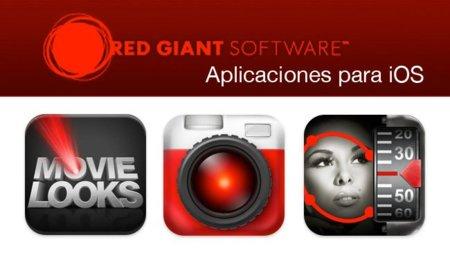 Tres grandes aplicaciones de Red Giant para iOS