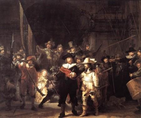 Ronda de noche de Rembrandt