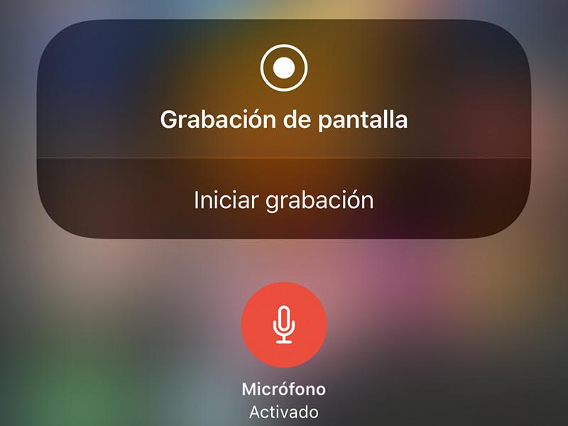5d3ffb015cb Cómo grabar la pantalla del móvil en iOS y Android