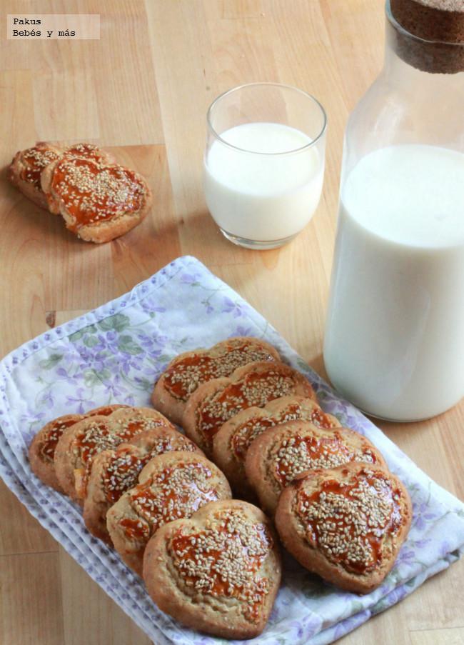 Pastas Corazon De Sesamo Y Miel
