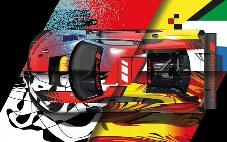 Audi viste de gala a los R8 LMS con los que buscará su quinta conquista en las 24 Horas de Spa