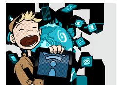 BlueVia ofrece un kit de marketing gratuito