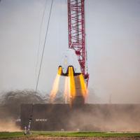 SpaceX pone a punto los propulsores de Dragon V2, en la cápsula hay lugar para siete astronautas