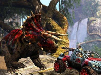 Echando unas partidas a Jurassic Park Arcade, el The House of the Dead con dinosaurios
