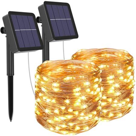 Guirnaldas luz solar