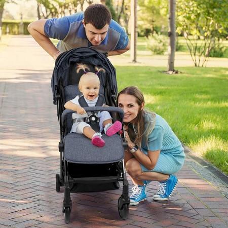 Esta silla de paseo plegable de Meinkind está disponible en Amazon a precio mínimo: 119,99 euros y envío gratis