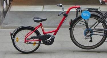 Add + Bike: media bici infantil acoplada en la del adulto